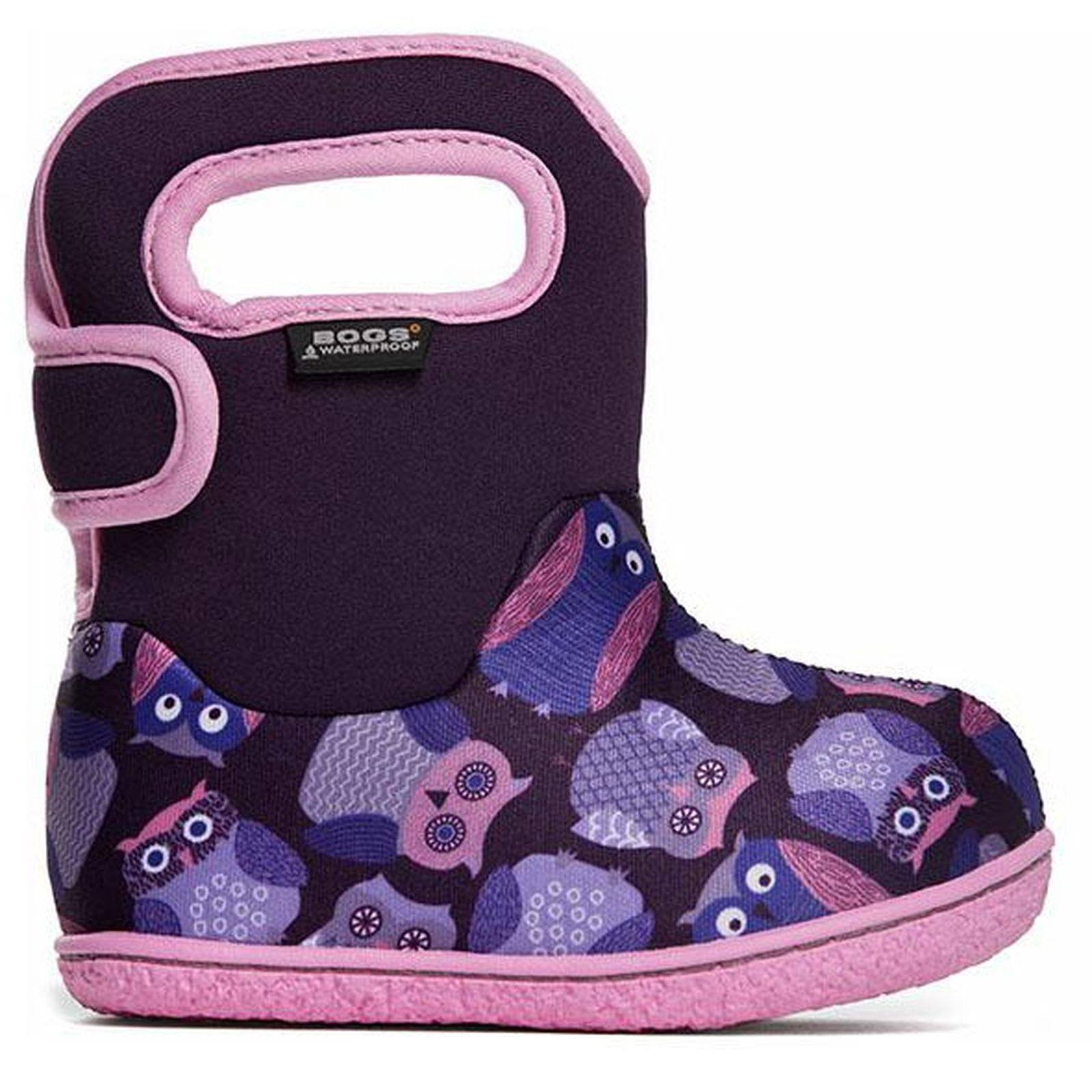 Bogs Infants Owls Waterproof Winter Boot - Toddler