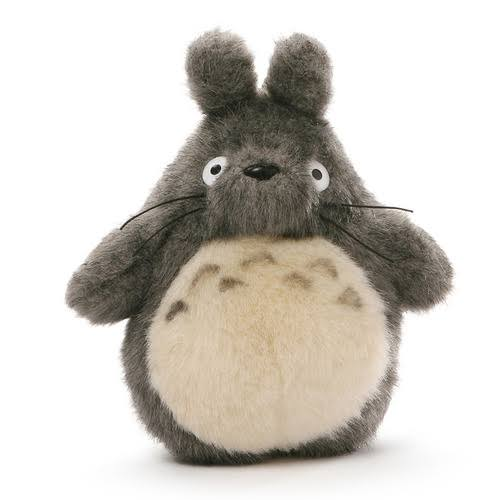 Gund Big Totoro Plush Toy - Grey, 7""