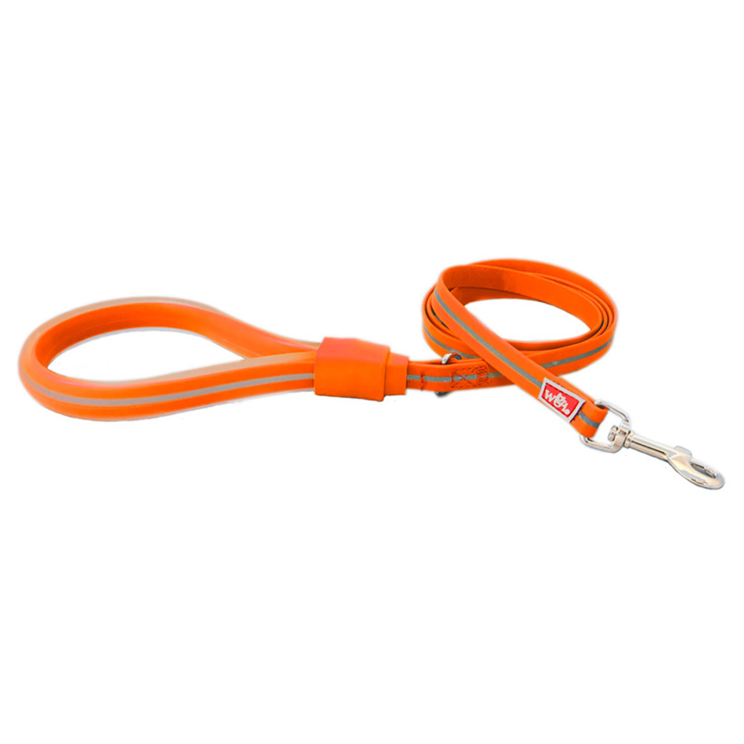 Wigzi Waterproof Gel Dog Leash - Orange