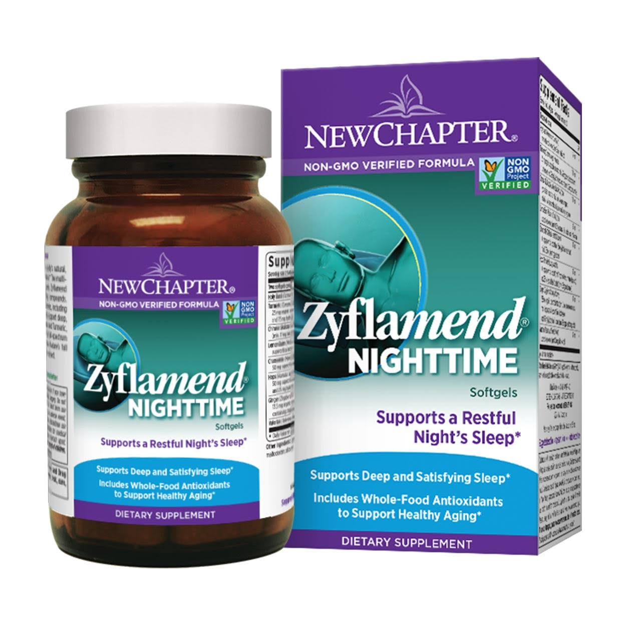 New Chapter Zyflamend Nighttime - 60 Vegetarian Capsules