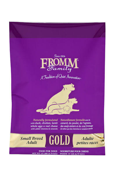FROMM Family Food Gold Dog Small Breed Bag - 15lb