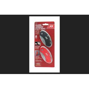 Ace Retractable Utility Knife - 2pk, 2""