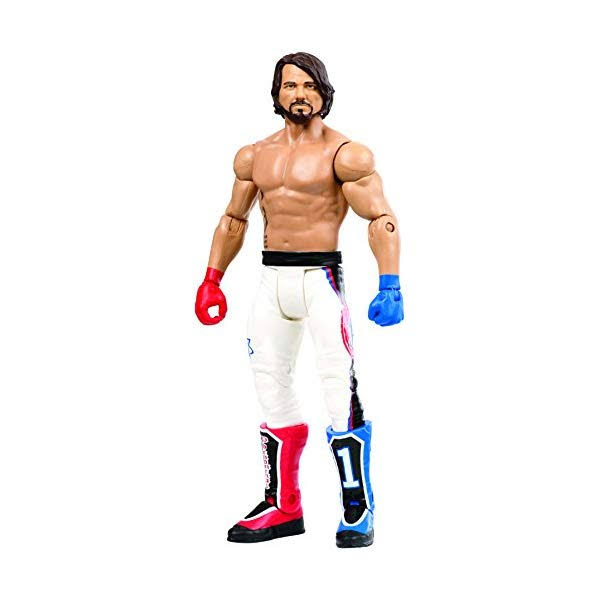 WWE Mattel Wrestlemania 34 Series Basic Wrestling Action Figure - AJ Styles