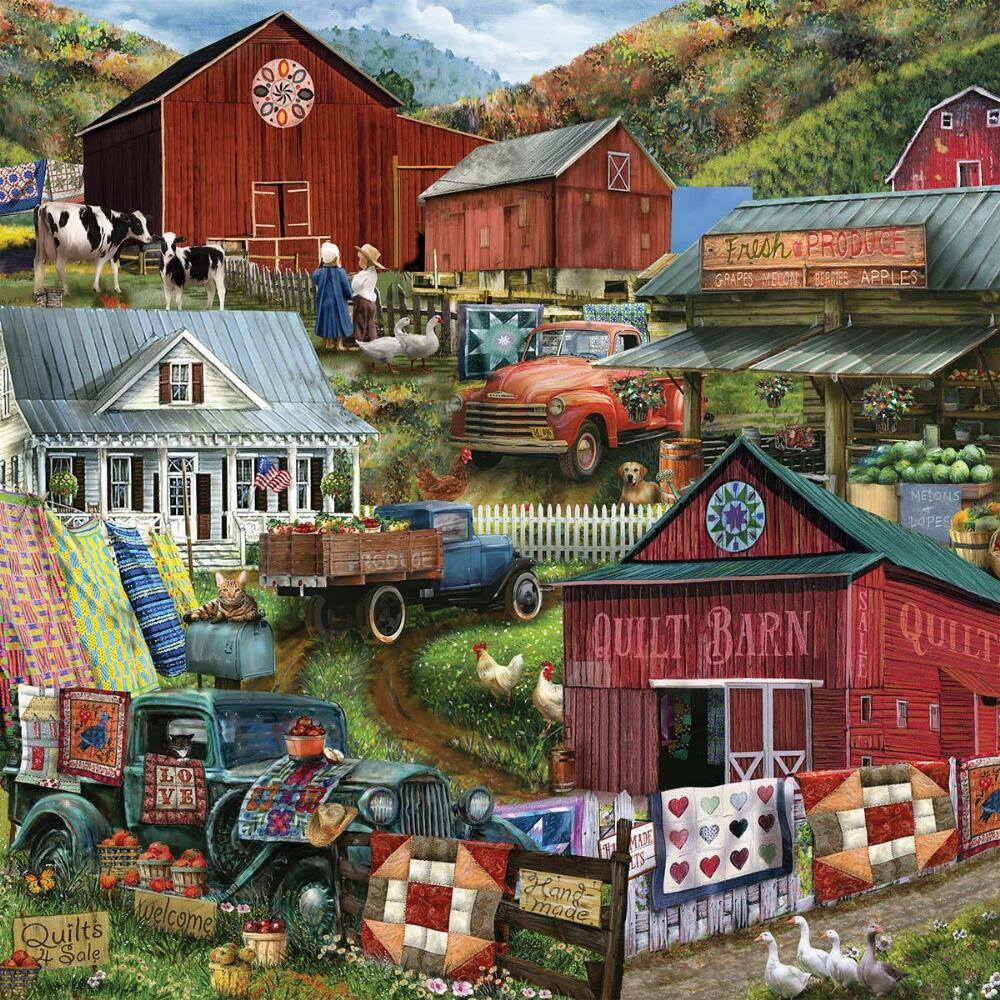 The Jigsaw Puzzle Factory Country Compilation Jigsaw Puzzle