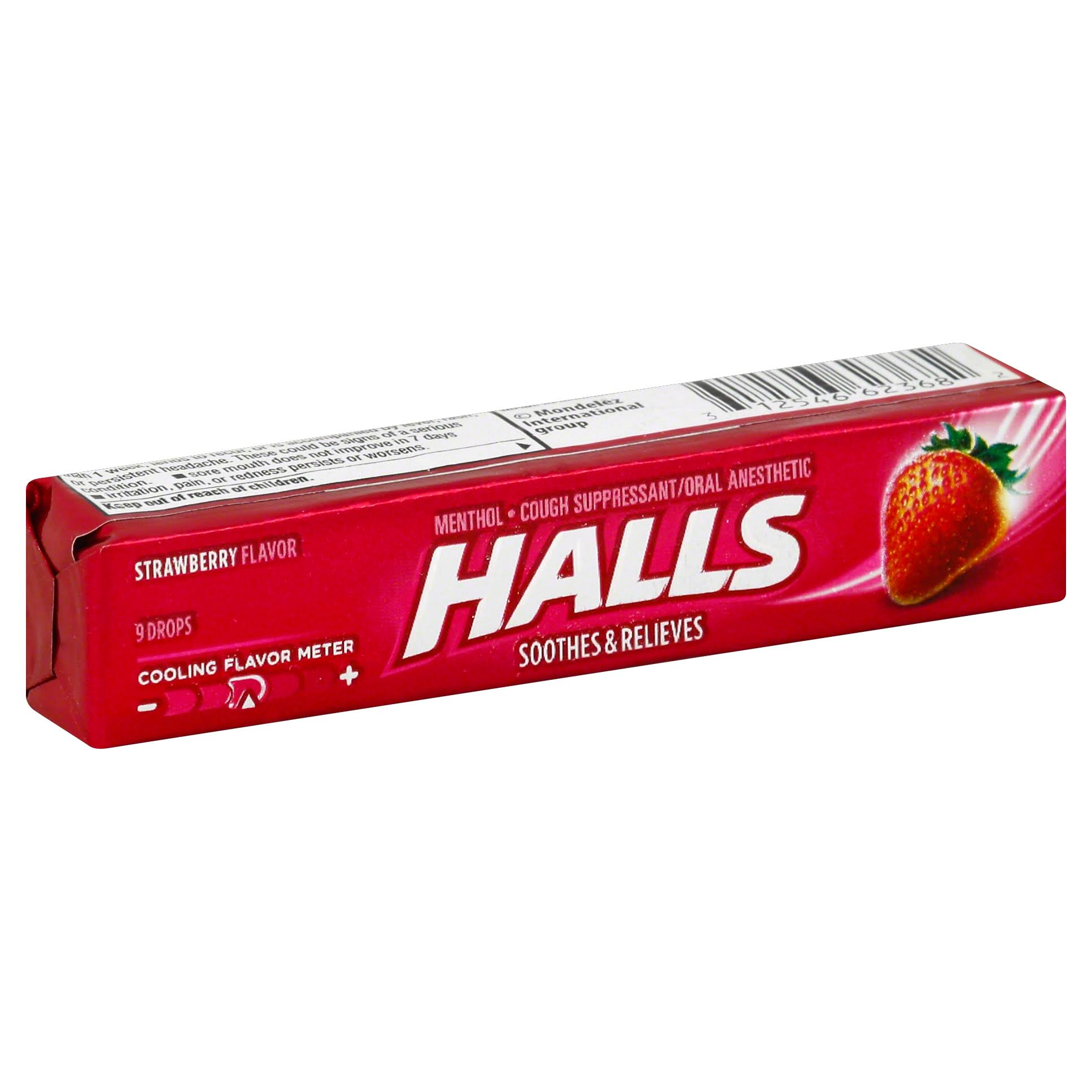 Halls Cough Drops - Strawberry