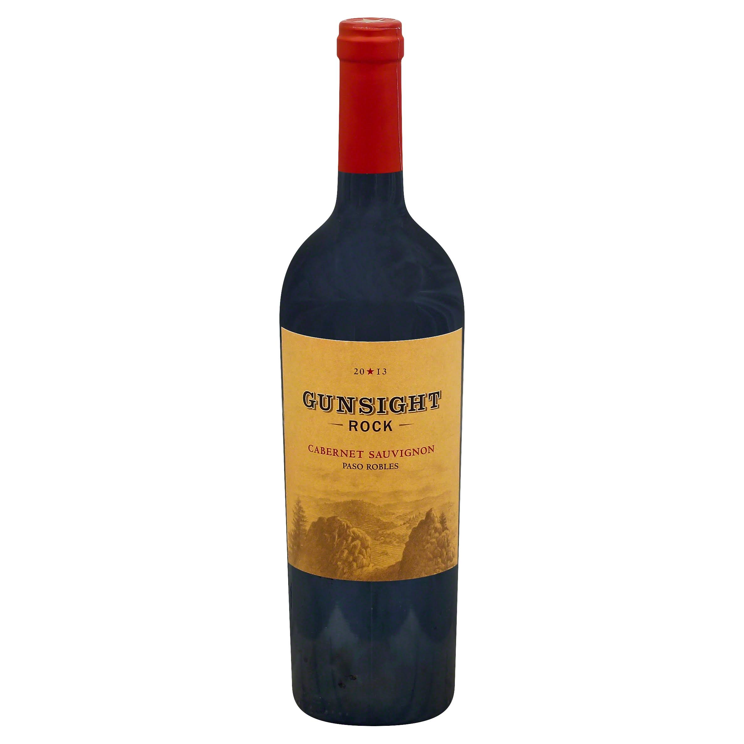 Gunsight Rock Cabernet Sauvignon - 2010, Paso Robles