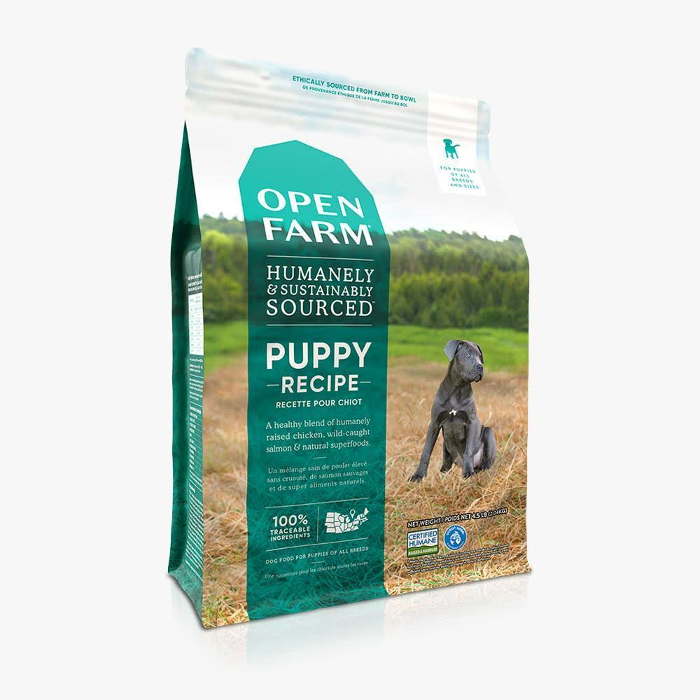 Open Farm Puppy Recipe Dry Dog Food 4.5 lbs