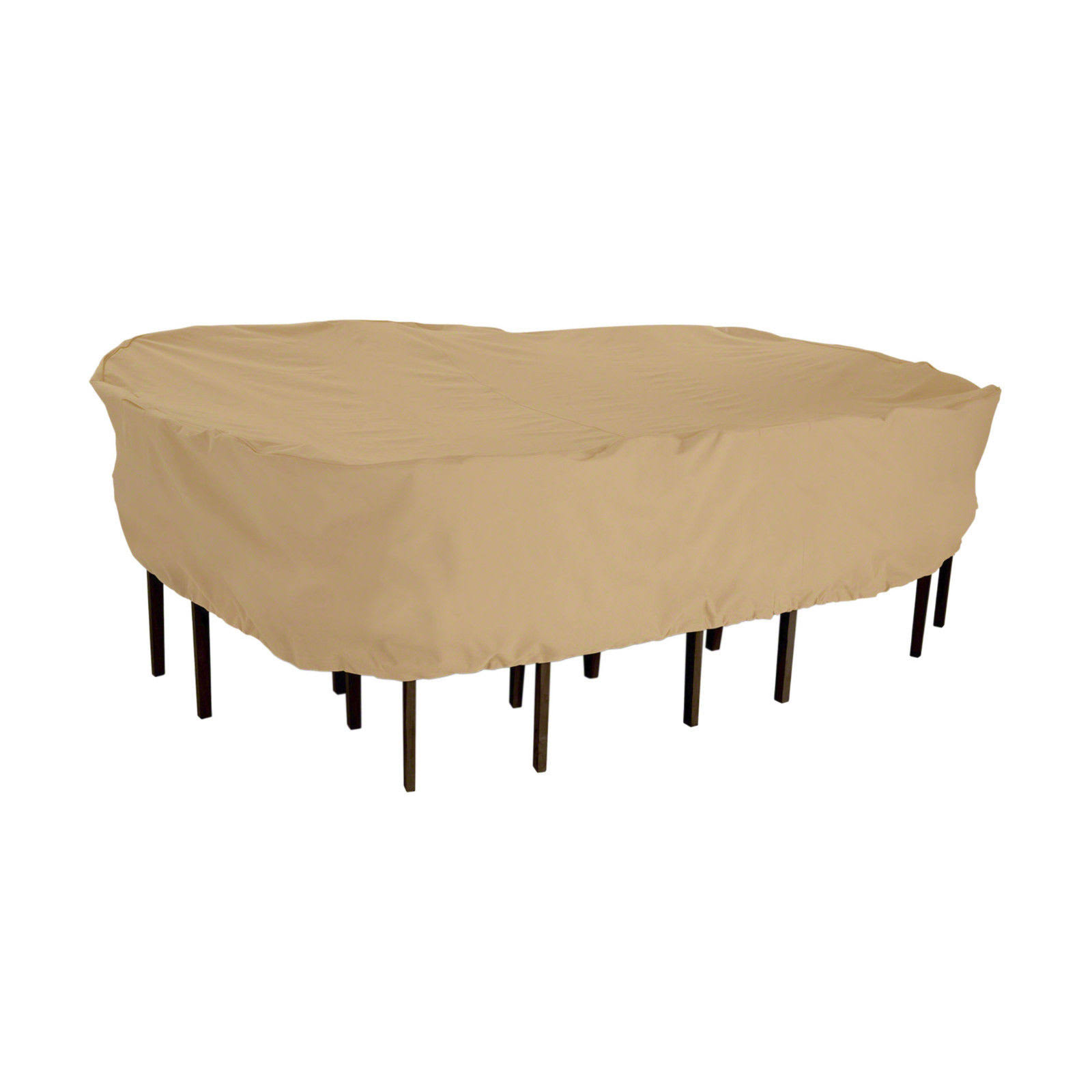 "Classic Accessories Furniture Storage Cover - 108""x82"", Tan"