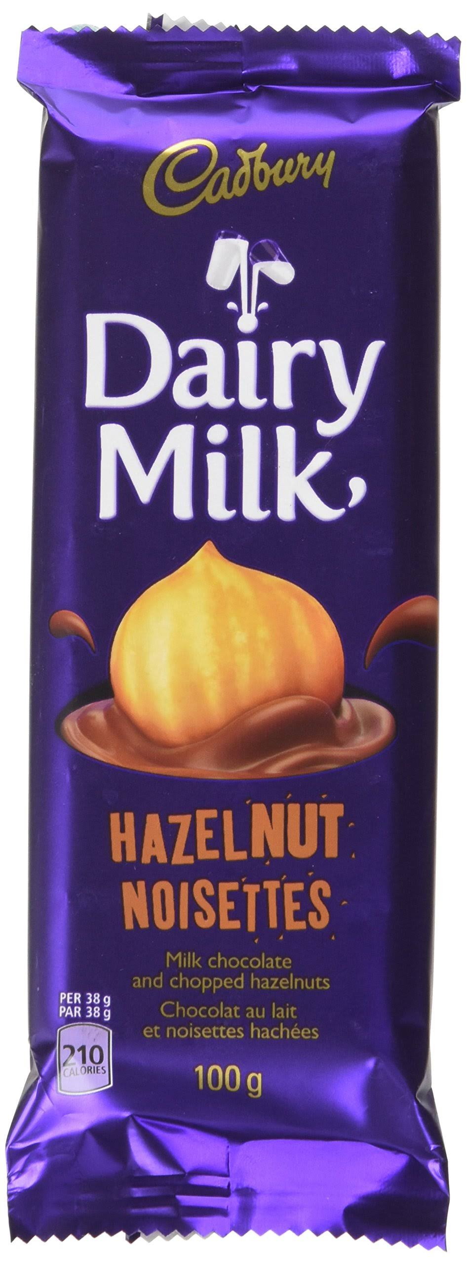 Cadbury Creamy Milk Chocolate - Hazelnut, 100g