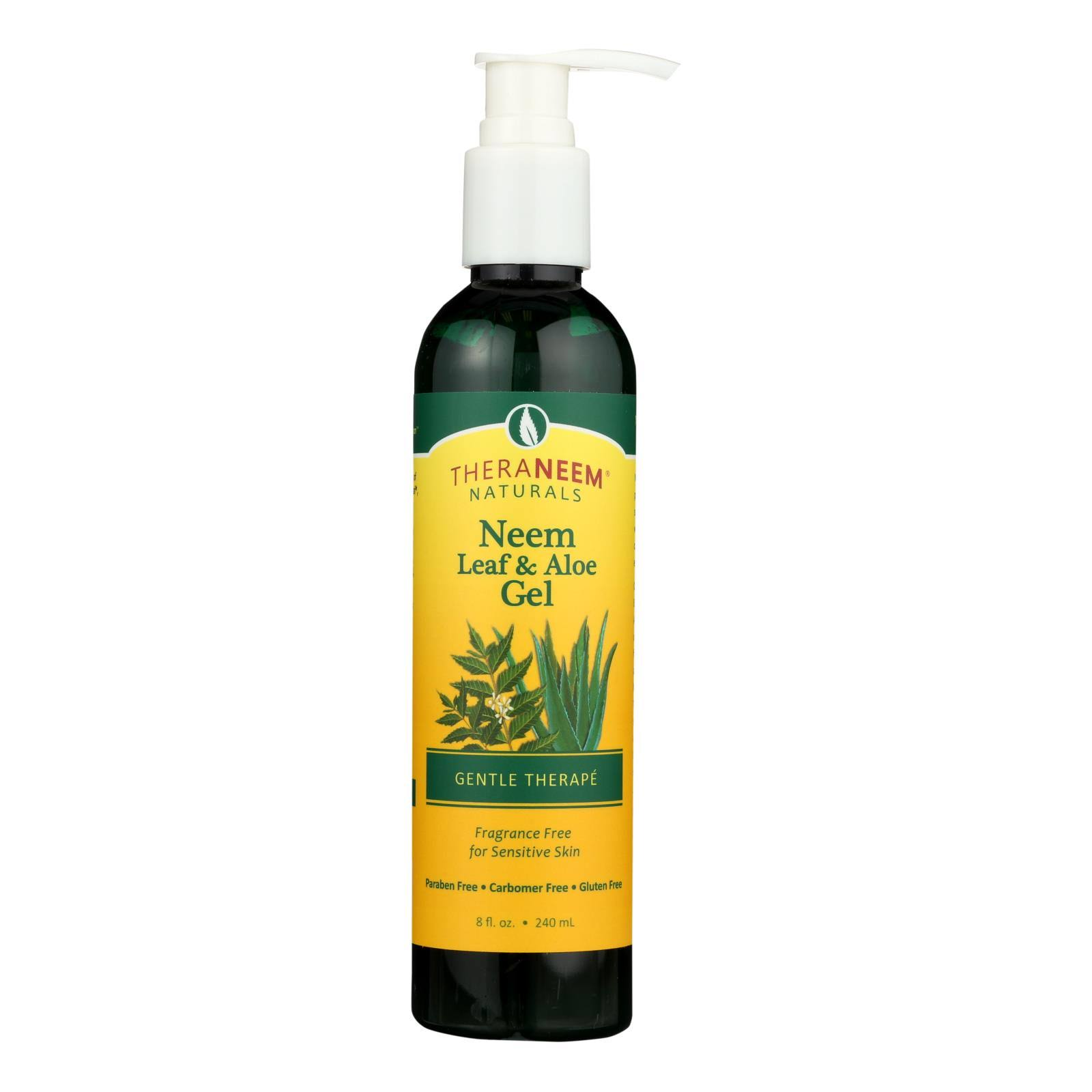 TheraNeem Organix Neem Leaf & Aloe Gel - 8 oz