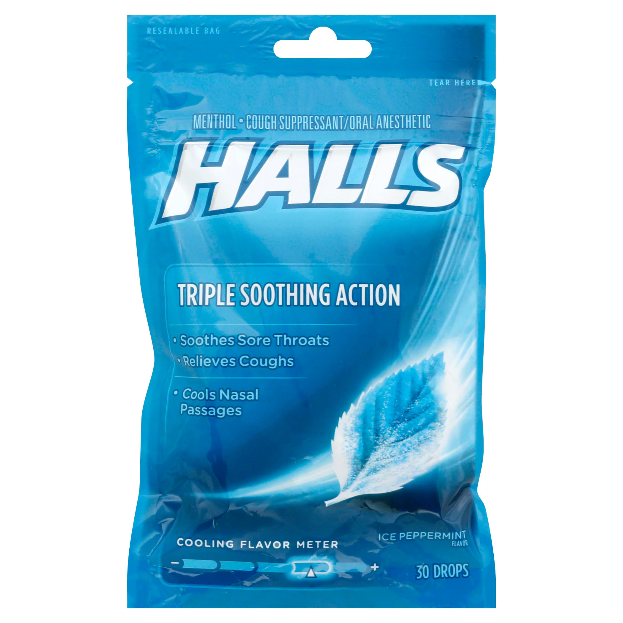 Halls Cough Suppressant Oral Anaesthetic - 30 Drops