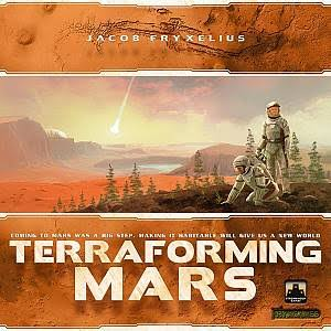 Fryx Games Terraforming Mars Board Game