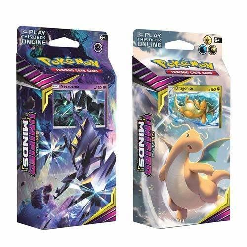 Pokemon TCG Sun Moon Unified Minds Theme Deck