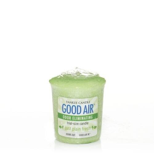 Yankee Candle Good Air Odor Eliminating Candle - Just Plain Fresh