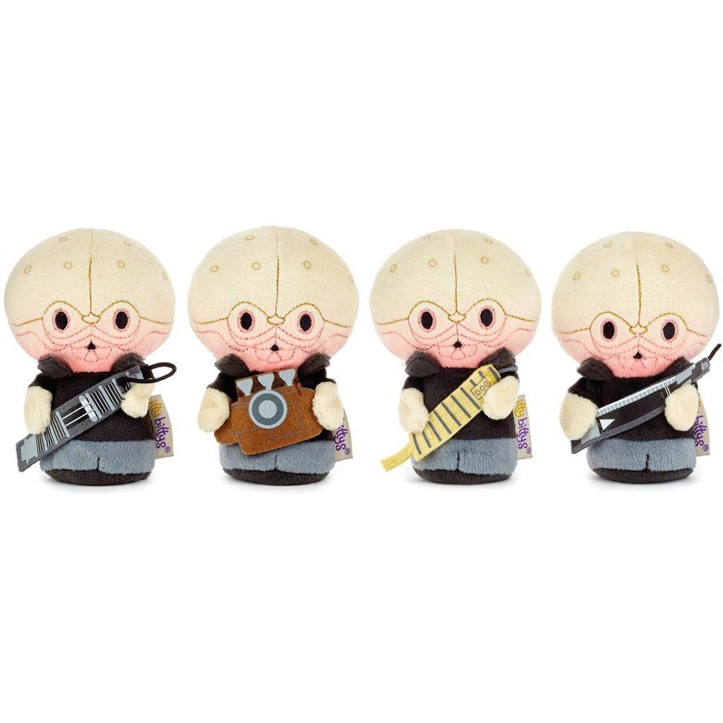 Itty bittys Star Wars Cantina Band Stuffed Animals, Collector Set of 4