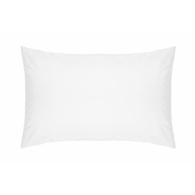Belledorm Unit Percale Pillowcase - White