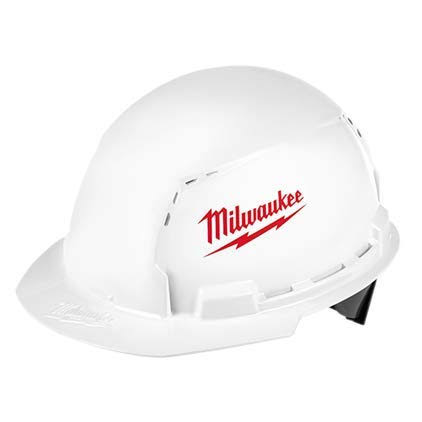 Milwaukee BOLT Type 1 Class C Front Brim Vented Hard Hat - White