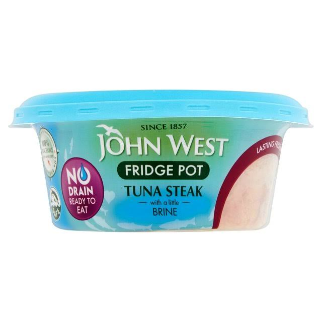 John West No Drain Fridge Pot - Tuna Steak, 110g