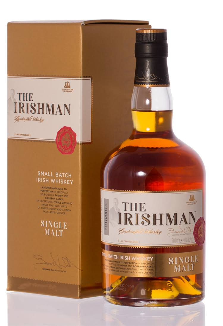 The Irishman Single Malt Single Malt Irish Whiskey