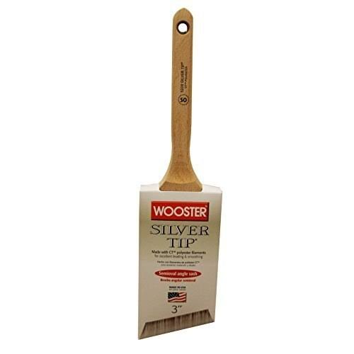Wooster Silver Tip W Semi Oval Polyester Blend Paint Brush - 2 1/2""