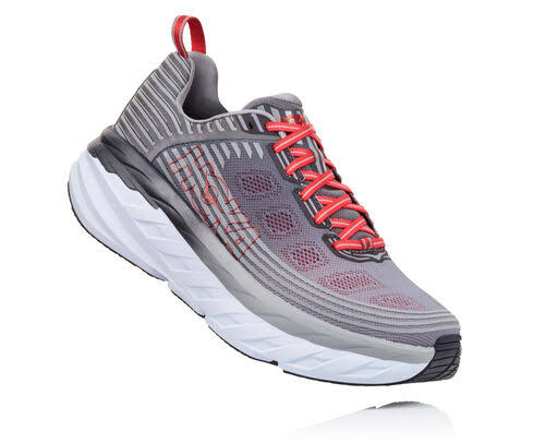 Hoka One One Men's Bondi 6 (10.5 Alloy/Steel Gray)
