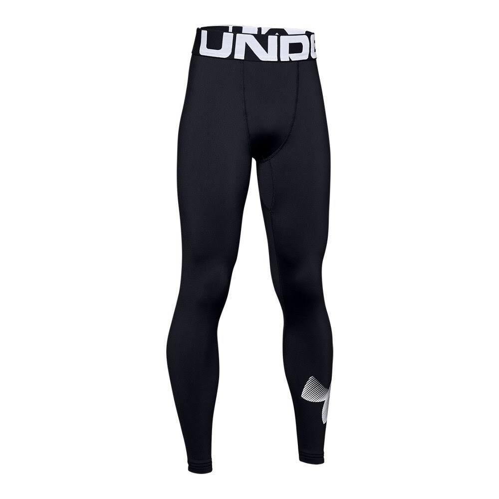 Under Armour Boy's Cold Gear Armour Leggings - Black