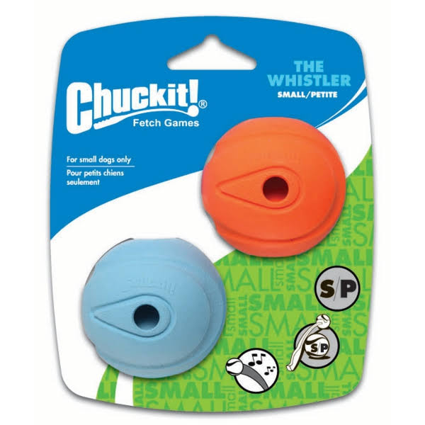 Chuckit! The Whistler Balls - Small, 2 pack