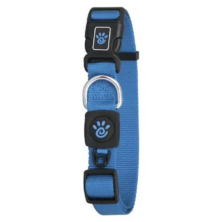 Doco DCSN1072-02L 6 ft. Signature Nylon Leash Dog Collar, Blue - Large
