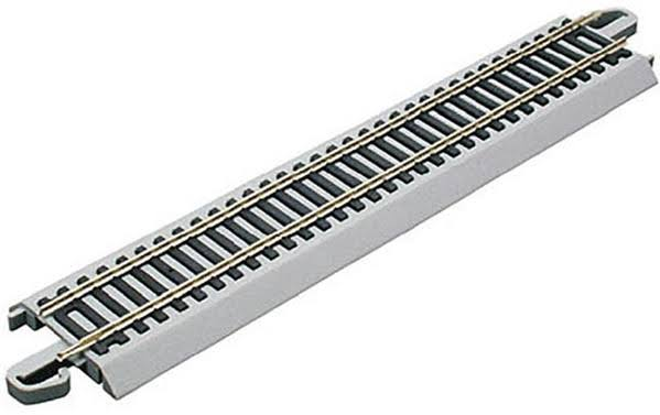 Bachmann Trains Snap-Fit E-Z Track HO Scale Straight Track - 9in
