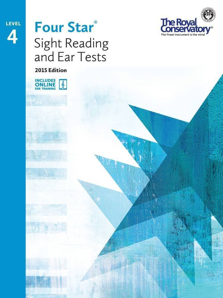 Four Star Sight Reading and Ear Tests Level 4 - Boris Berlin