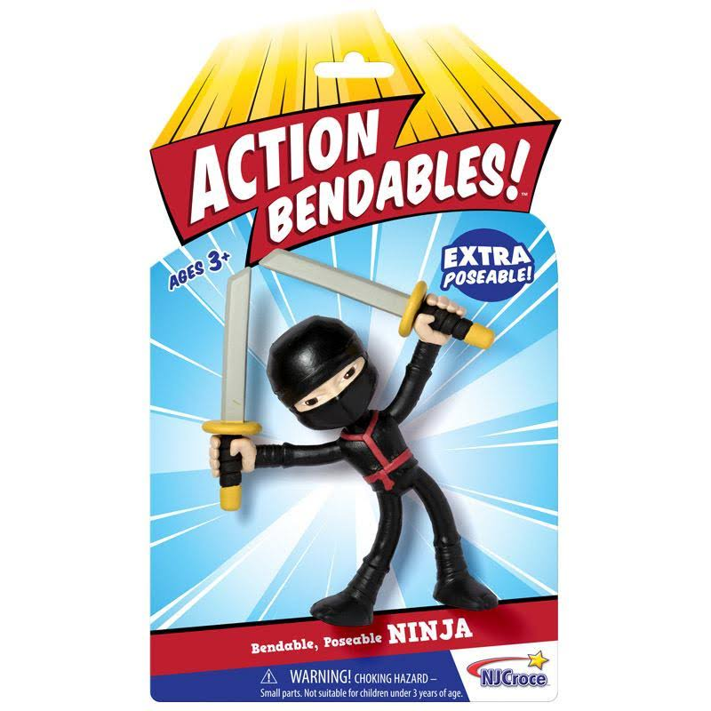 Action Bendable Figure - Ninja