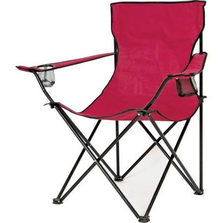 Mintcraft Wide Bucket Chair - Burgundy