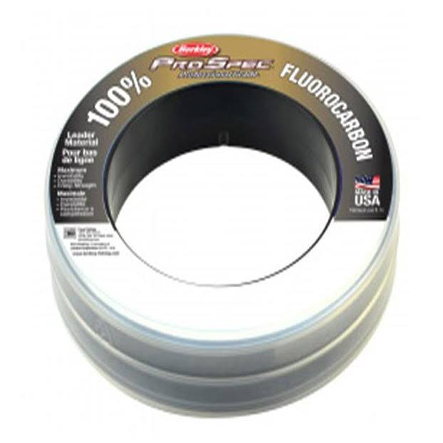 Berkley ProSpec 100 Fluorocarbon Leader Line - Clear, 30lbs, 100yds