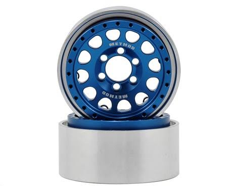 Vanquish VPS07917 - Method 1.9 Race Wheel 105 Blue/Clear Anodized