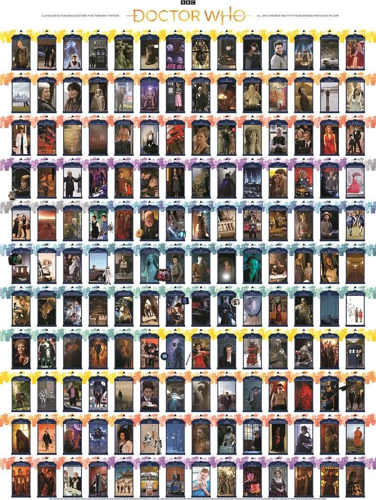 Doctor Who Collage Jigsaw Puzzle - 1000pcs