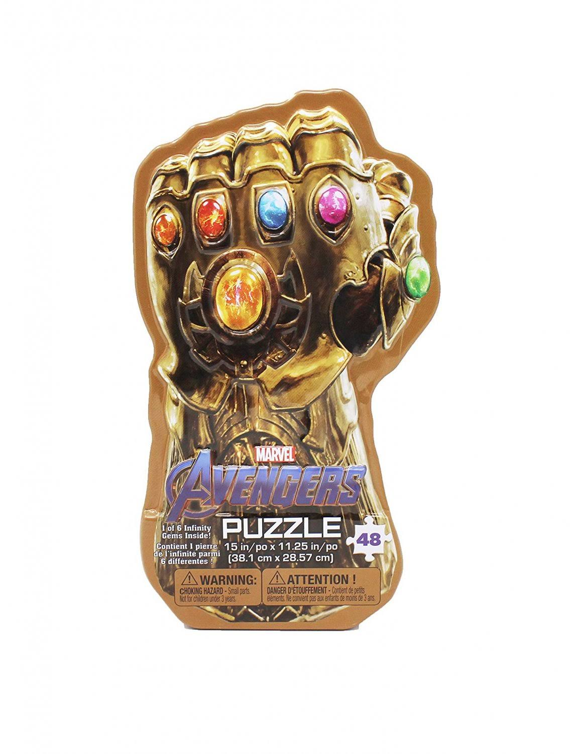Marvel's Avengers: Infinity War Gauntlet Tin with Surprise Puzzle & I