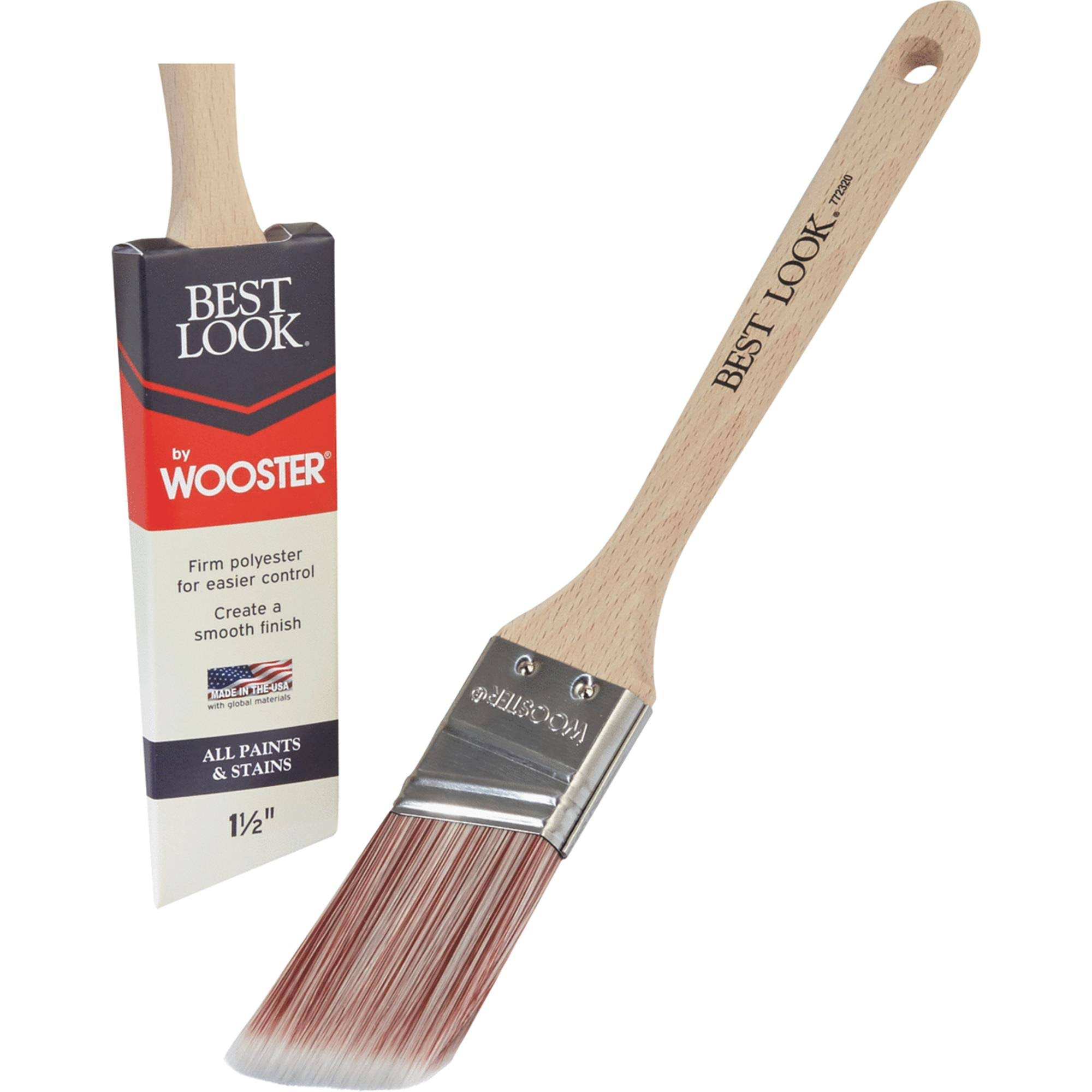 "Wooster Brush 1.5"" A/S Paint Brush D4022-1 1/2"