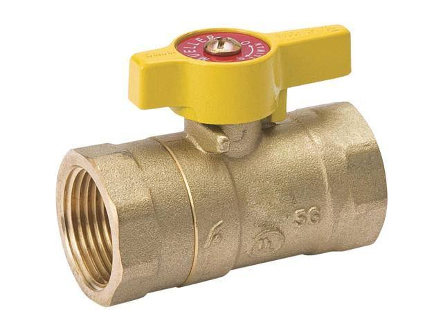 B and K Industries Gas Ball Valve - 3/4""