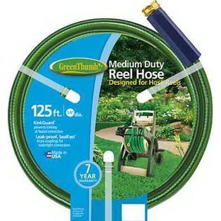 "Green Thumb Medium Duty Hose - 5/8"" x 125'"