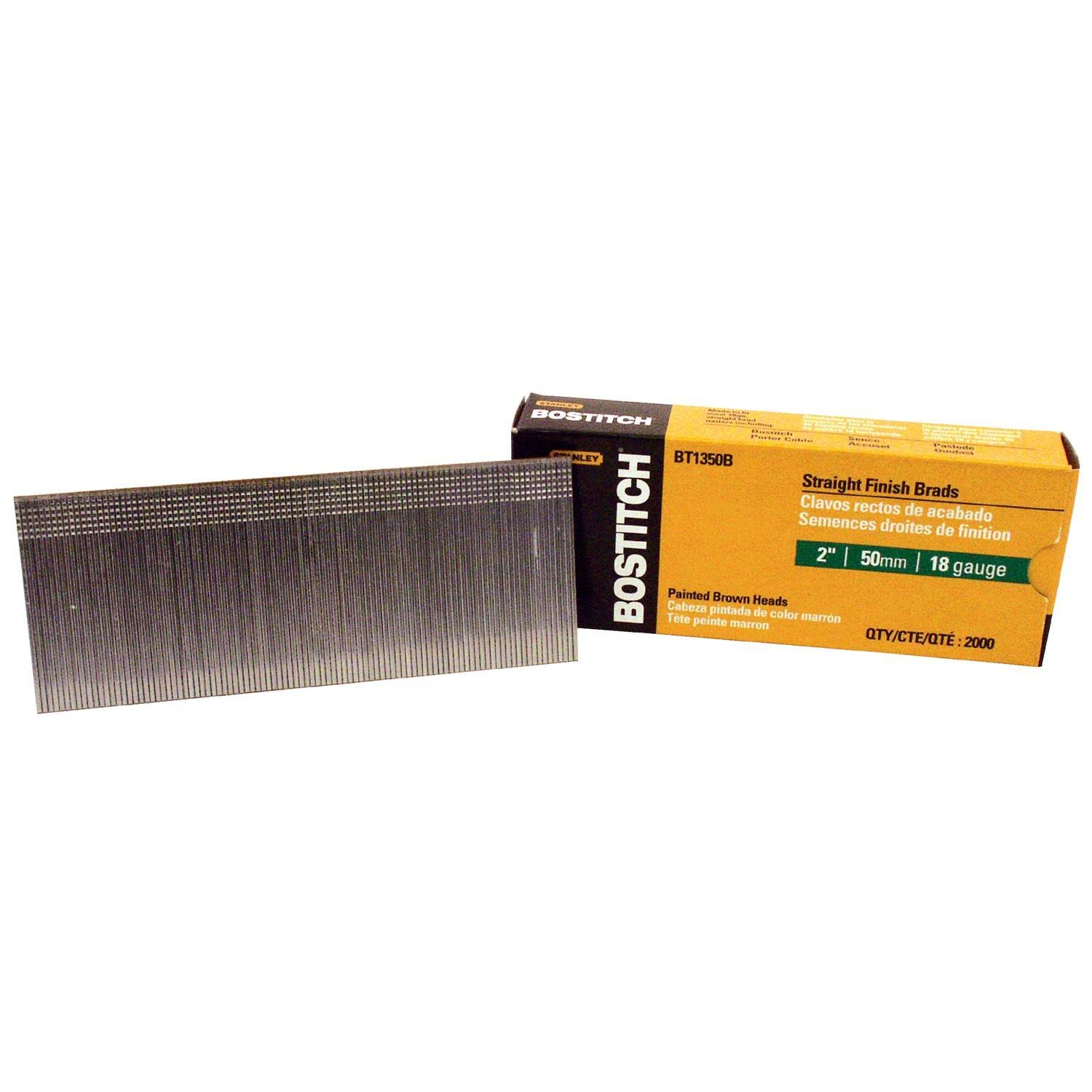 "Stanley Bostitch Brad Nails - 2"", 18 Gauge"