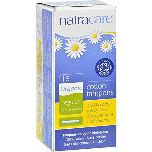 Natracare Organic Tampons - Regular, 16ct