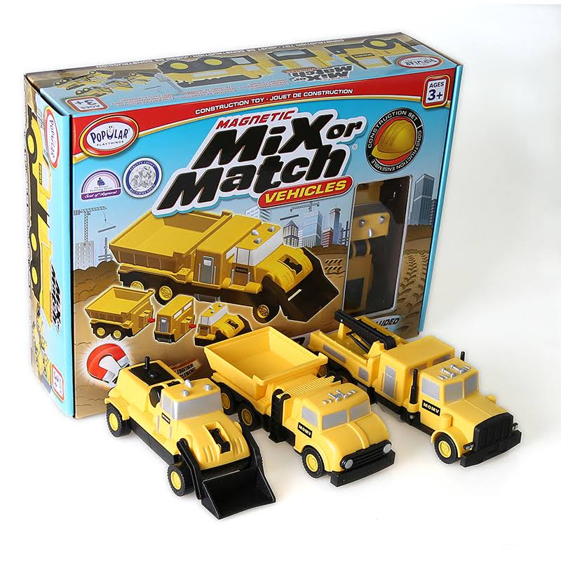 Popular Playthings Mix or Match Vehicles - Construction