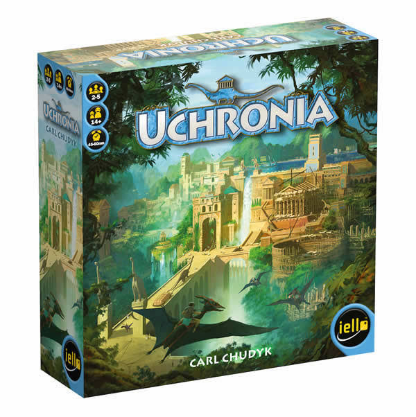 Uchronia City Building Board Game