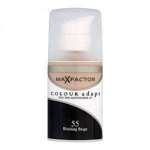 Max Factor Color Adapt Foundation - 55 Blushing Beige, 34ml
