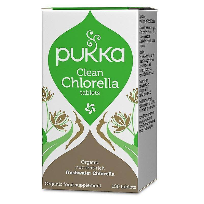 Pukka Clean Chlorella Supplement - 150 Tablets