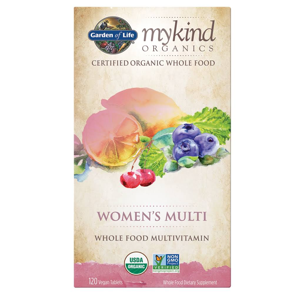 Garden of Life Kind Organics Women's Multivitamin