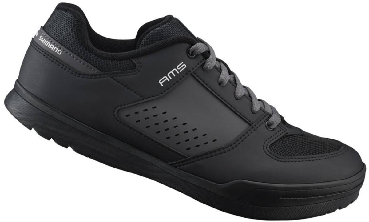 Shimano Men's Am5 Gravity BMX Cycling Bike Shoes - Black, 10.5 US