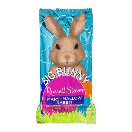 Russell Stover Marshmallow, in Milk Chocolate, Big Bunny - 2 oz