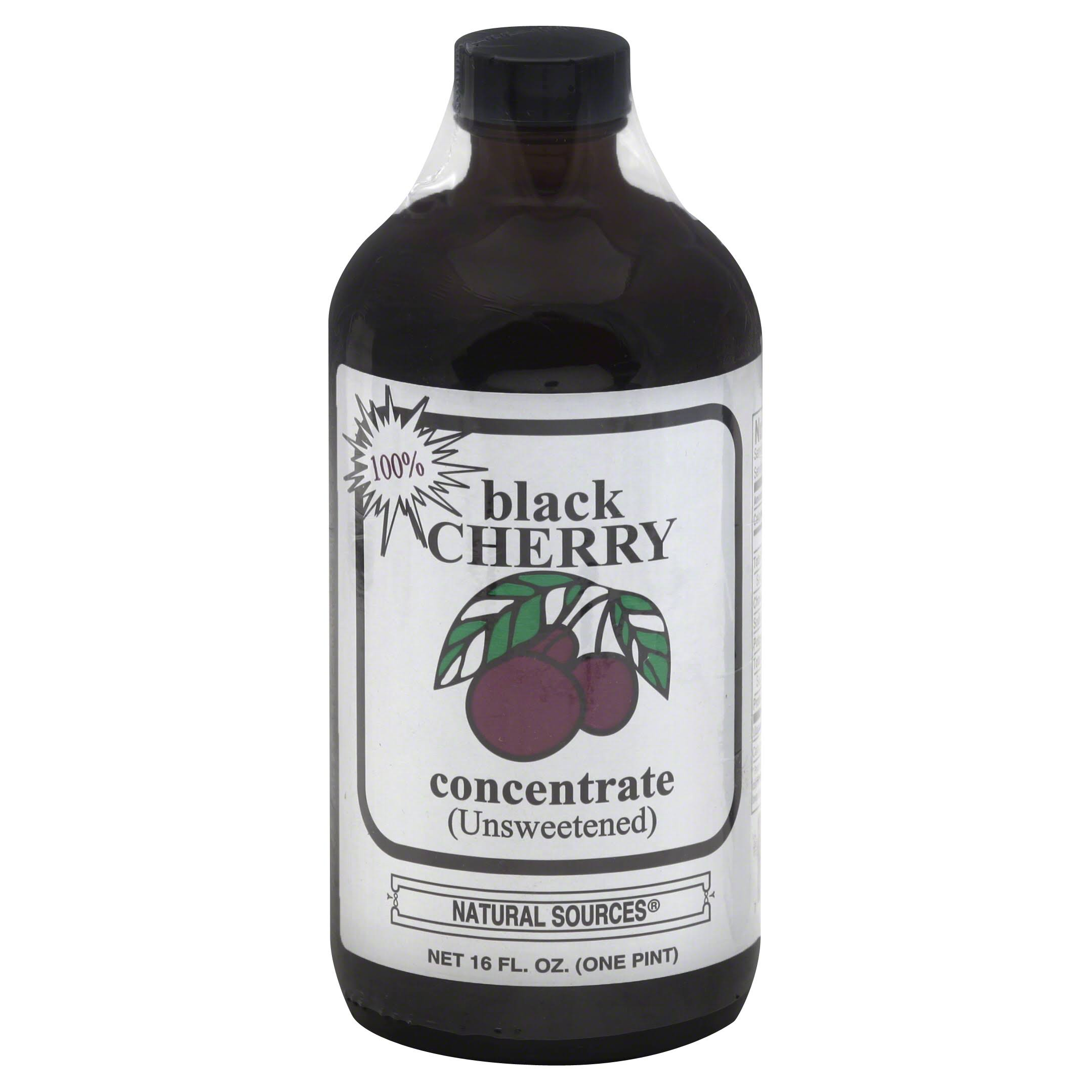 Natural Sources Inc Concentrate - Black Cherry