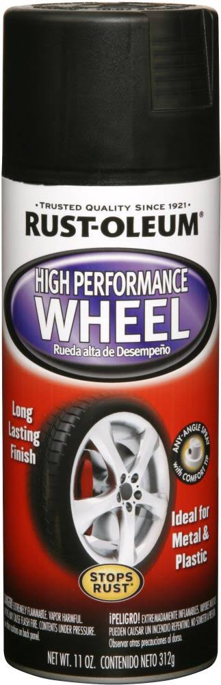 Rust-Oleum High Performance Automotive Spray Paint - 11oz, Black